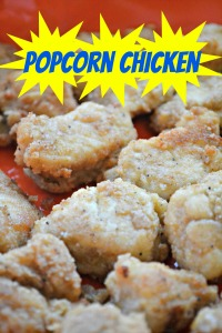 easy popcorn chicken recipe sidebar