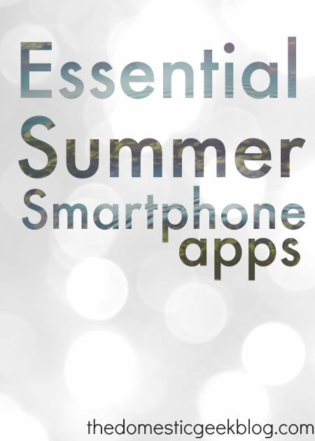 Essential Summer Smartphone Apps