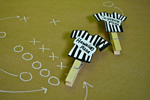 football ref shirts food labels party