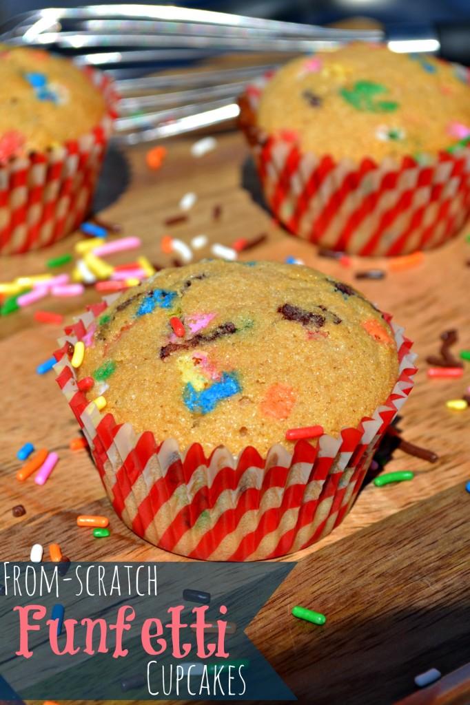 from scratch funfetti cupcakes recipe