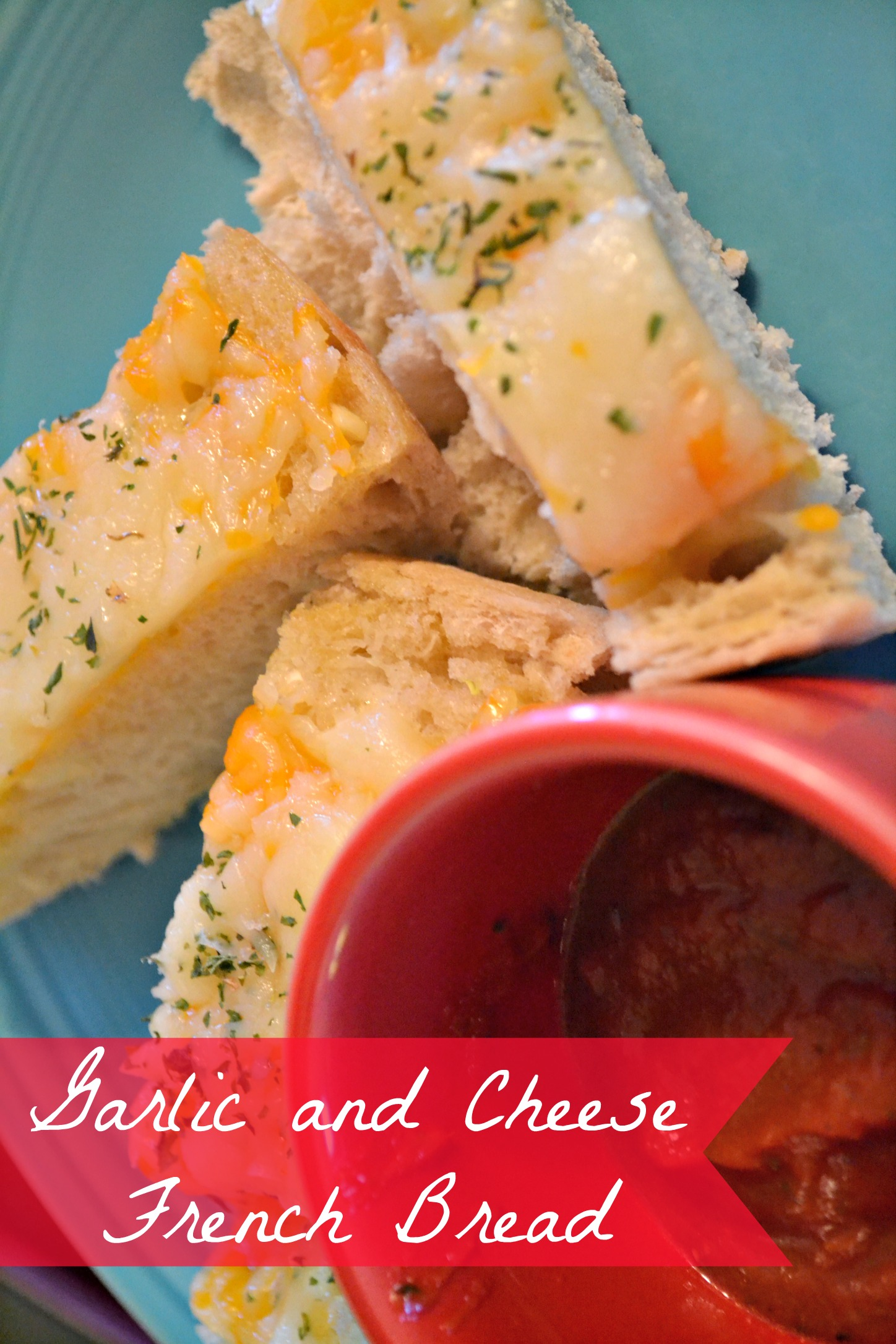 Garlic and Cheese French Bread Recipe