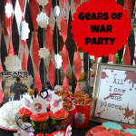Gears Of War video game themed party