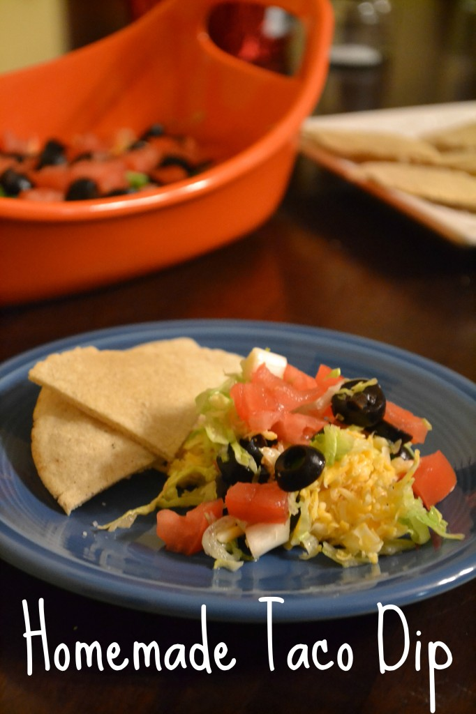 homemade taco dip recipe