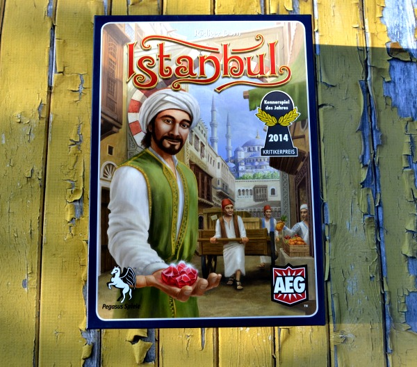 Istanbul board game review, straight from the black market
