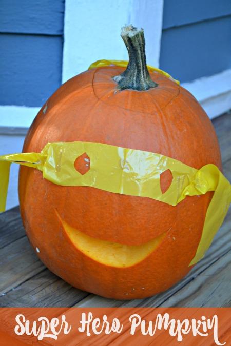 l Super Hero Pumpkin