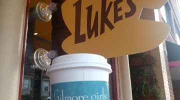Happy birthday Gilmore Girls! AKA The day that Luke's Diner took over the world.