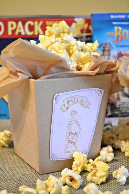 The Boxtrolls Movie Night Popcorn Boxes DIY craft