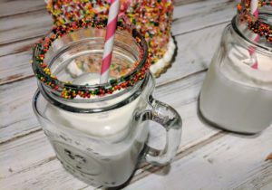Celebrate with Sprinkle Milk