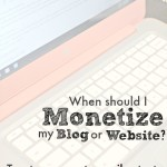 monetize blog or website