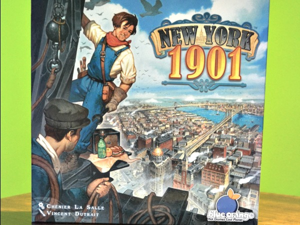 New York 1901 – A Skyscraping Board Game Review