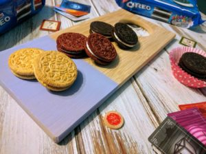 Conquering boredom with board games and OREO
