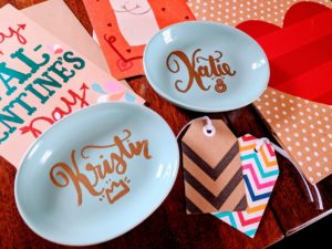DIY personalized ring dishes