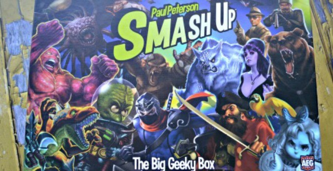 The Obligatory Big Geeky Smash Up Post