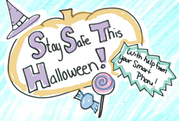 Stay Safe This Halloween (with help from your smartphone)