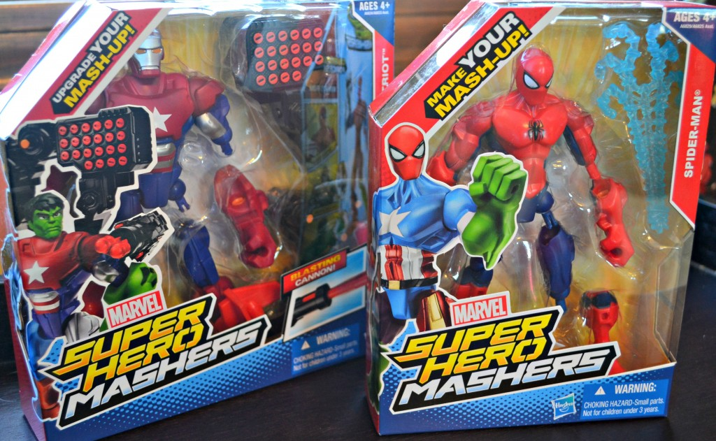 super hero mashers packaging
