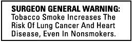 surgeon generals warning