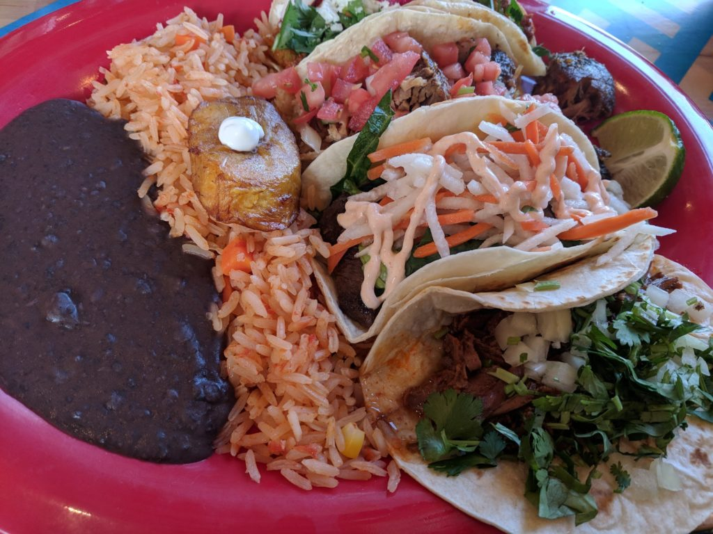 BelAir Cantina Milwaukee taco plate