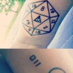 New Geeky Tattoos from Oshkosh Tattoo