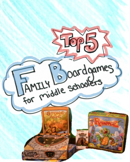 Top 5 Family Games for Grade School Aged Kids – Looking at you Tweens