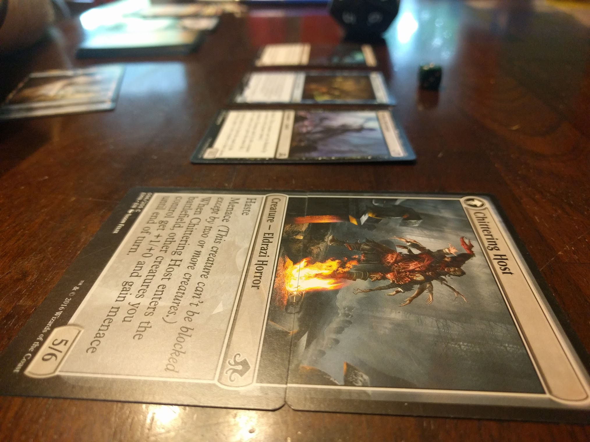 Dear Wizards of the Coast, for the love of Cthulu, please stop printing double sided cards.
