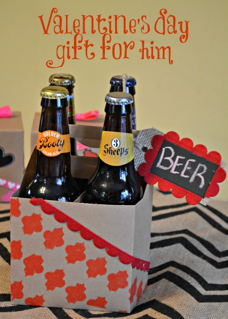 The perfect Valentine's Gift for him. (Psst, it's beer.) Get the build ...