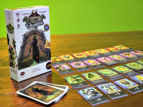 Welcome to the Dungeon – board game review. Do you have what it takes?